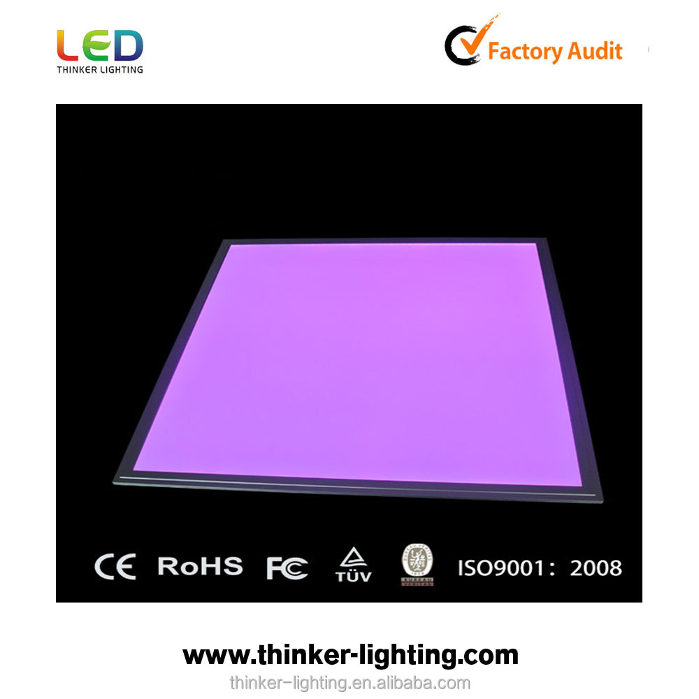 NEW RGB multicolor led panel light motion sensor for office rgb 60x60 cm led panel lighting