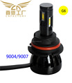 Factory direct 9004/9007 H/L LED headlight car LED headlamp G6 head lamp head light 96W bulb kit car LED headlamp