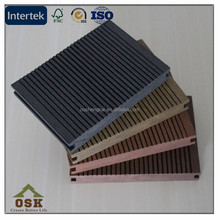 wood plastic composite/WPC solid decking /outdoor solid wpc decking