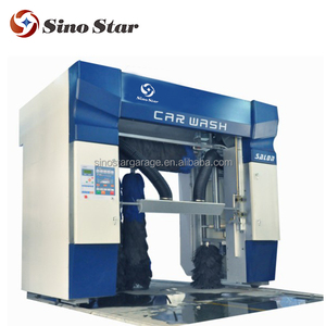 Best quality 5 brush rollover car wash machine system / full automatic rollover car washing equipment (C7)