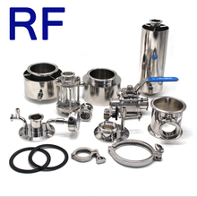 RF Sanitary Stainless Steel Tri-Clamp Spool/ Reducer/ Clamp Pipe Fitting Extractor Parts