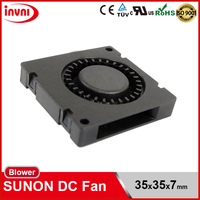 ON SALE SUNON Maglev 3507 35x7 35mm 35x35 35x35x7 mm 12V DC Low Cost Mini Centrifugal Blower Fan (GB1235PDV3-8.Z.F.X.GN)