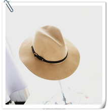 wholes wide brim wool felt fedora man woman hat fedora hat women
