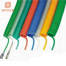Chinese factory reinforced fatigue resistance compressor nylon curly air hose manufacturer supplier