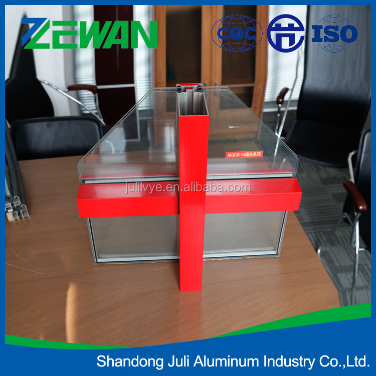Hot seeling aluminum window and door.