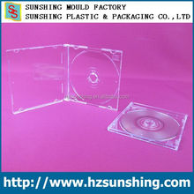 transparent 8cm cd jewel case,cd case for 8cm CD