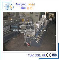 Wood plastic pellet extruder granulator machine