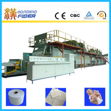 Airlaid paper making machine, airlaid paper production line