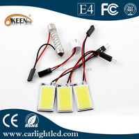 New 12V DC High Power Auto LED COB Festoon/T10 Dome Light for Car Interior Reading Bulbs