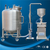 SPX-High quality cheap custom automatic cream paste filling machine for peanut jam/butter/cosmetic