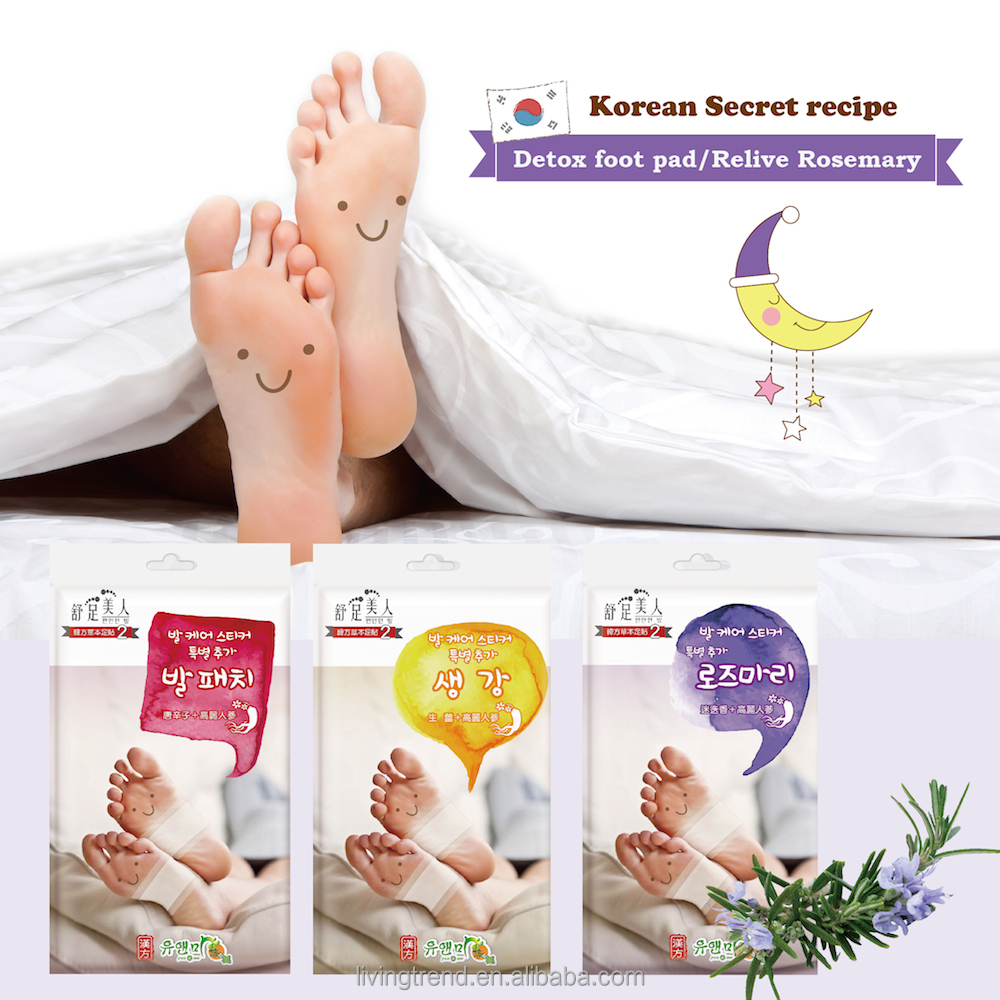 Korean ginseng secret recipe good for cold hands woman body foot care patch