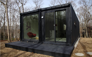 Luxuary modifying shipping container house for sale