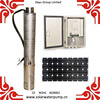 submersible fountain pump solar water pump with 110v 220v 330v DC motor