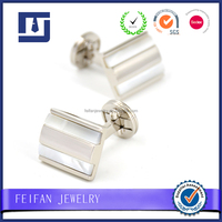 Hot Selling Factory Cheap Price Novelty Mother of Pearl Cufflinks 2016