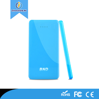 OEM/ODM 2015 Newest portable usb Mobile Universal power bank 5000mah Li-polymer battery charger power bank for phone