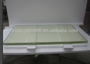 10mm x ray shielding lead glass from China manufacture