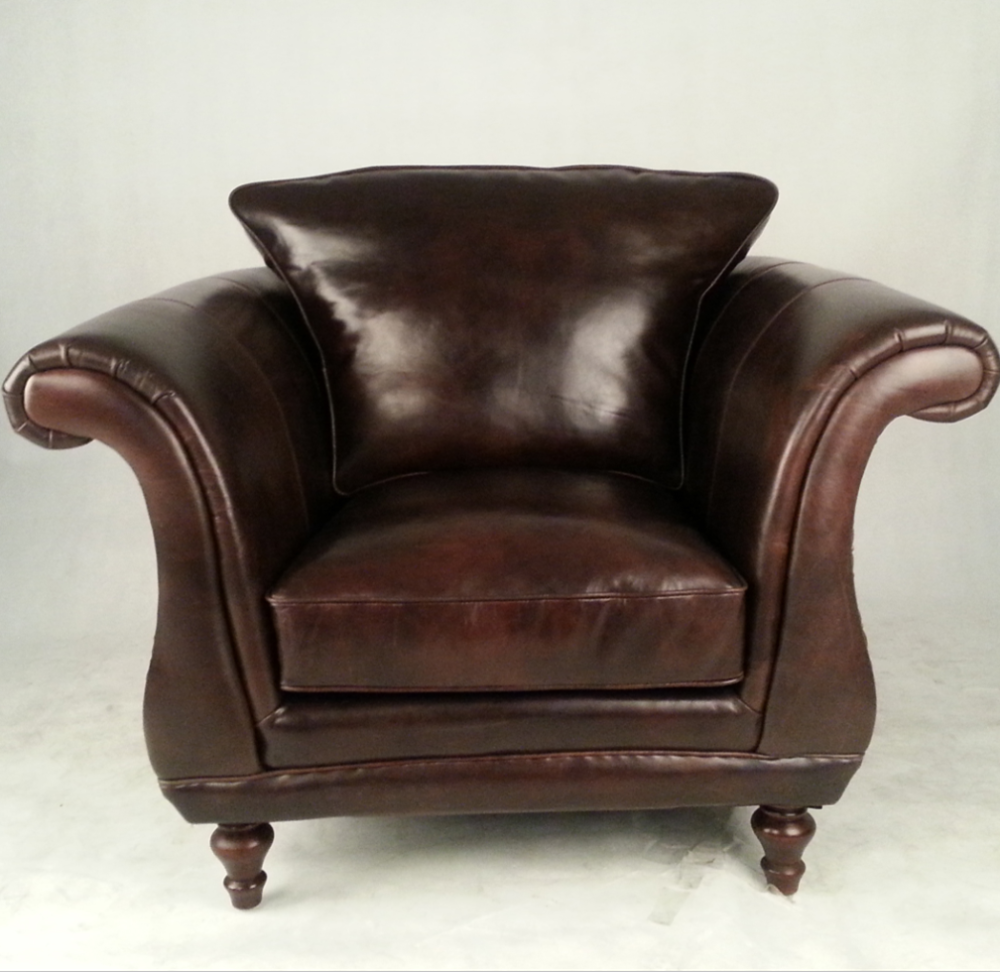 Single Seater Retro Vintage Leather Sofa Armchair Buy Vintage Leather Sofa Armchair Vintage