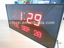 LED Calendar Digital LED Calendar LED Digital Calendar 3 inch led clock clocks for the elderly
