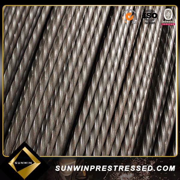 high quality high tensile low relaxation cold drawn railway sleeper pccp spiral pc wire