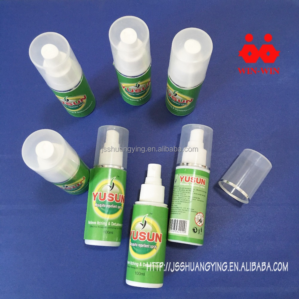 small fragrance bottles mosquito spray