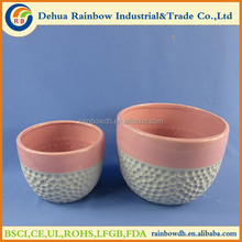 Wholesale Pots Type and Glazed Finishing Ceramic Planter Pot For Garden