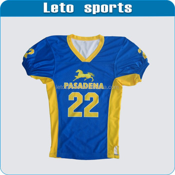 custom high quality mens american football jersey