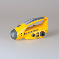 FineDEE A306-03 Solar Rechargeable Hot-selling Crank Radio