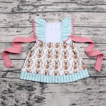 New fashion kids frock designs pictures wholesale baby girl dress