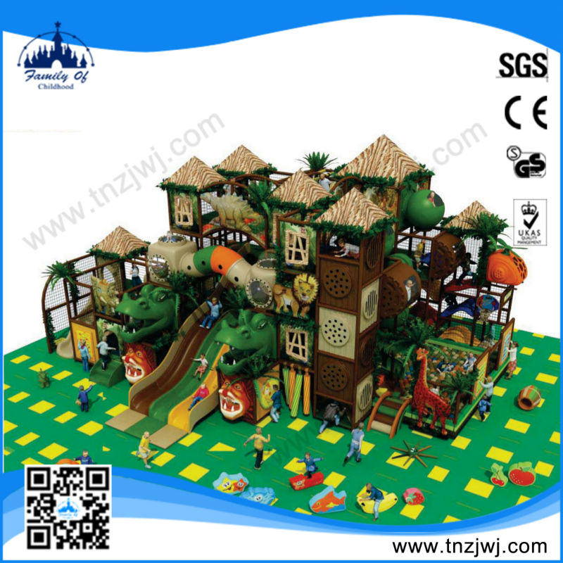 Latest cheap jungle indoor customized playground equipment for mcdonalds