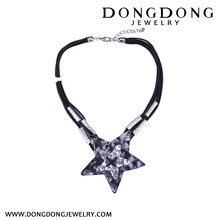 Dongdong european and American Pop Star Pendant Necklace