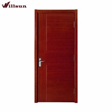 Fashion Design Interior Wood Flush Door Mdf Bedroom Door