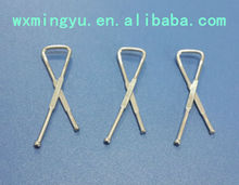 nickel free metal clip, shirt metal clip for packaging