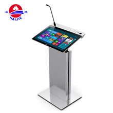 Audio Conference Room Equipment Clear Lecture Table/ Podium/ Speech Desk
