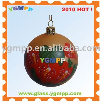 Sell YGM-B11 Mouth Blown Christmas Balls Ornament