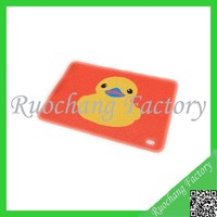 Rubber Duck meeting room pvc mat , rubber bath toilet mat