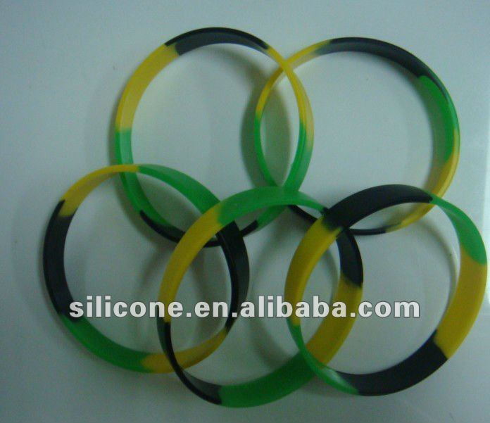 reasonable and competitive silicone personalized cross bracelets