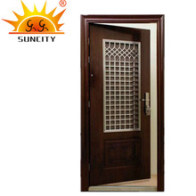 SC-S150 Stunning design vented steel doors window insert with mosquito net