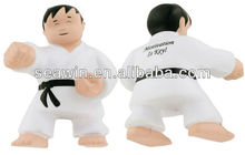 PU Foam Stress Karate Man