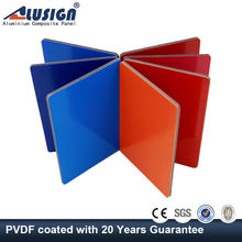Alusign exterior aluminum composite panel acp sheet pvdf coating