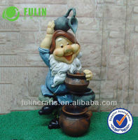 China Indoor Resin Gnome Water Feature