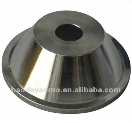 bowel shape electroplated diamond grinding wheel for tungsten carbide