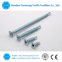 China Supplier Zinc Plated Flat Head