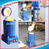 JIUCHEN Electric Gold Lead Induction Melting Furnace for Sale