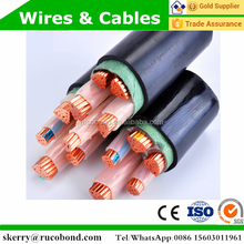 medium voltage xlpe electrical power cable 0.6/1kv used for station
