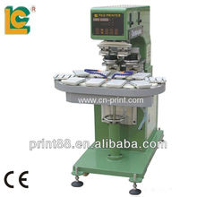 LC-SPM2-200/10T 2-color conveyor ink Cup Ball Pen Pad Printing Equipment
