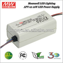 Meanwell Constant Voltage LED Driver 10W APV-12-15 Pass 100% Full Load Burn-in Test