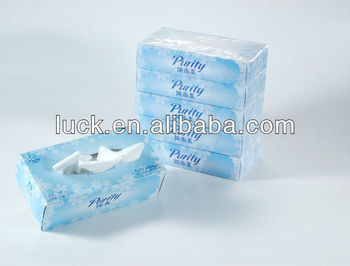 small pack high quality silky soft facial tissue