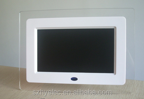 Cheap gif digital picture frame 7 inch LCD mp4 digital picture frame