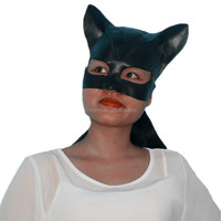 Cute Sexy Catwoman Rubber Latex Mask For Masquerade Party Mask