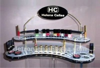 Mega Brand Nail Polish Cosmetic Tabletop Acrylic Display S1143 ~ NEW